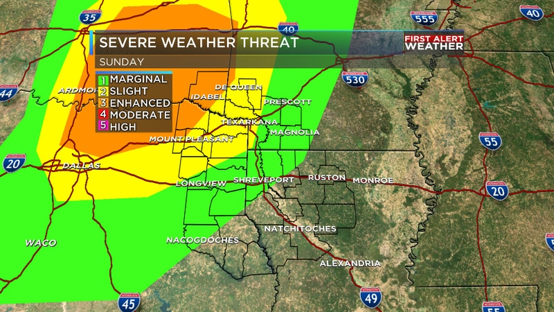 We are tracking increasing potential for strong and severe thunderstorms overnight Sunday into...