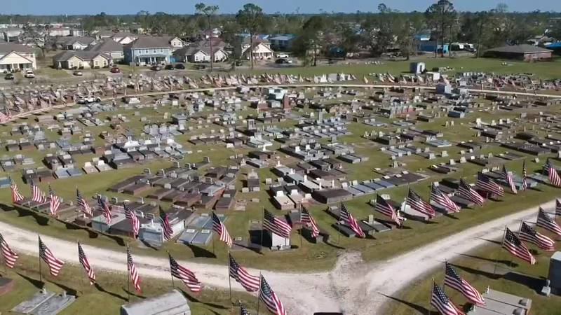 Each Veterans Day and Memorial Day, volunteers in Southwest Louisiana come together to honor...