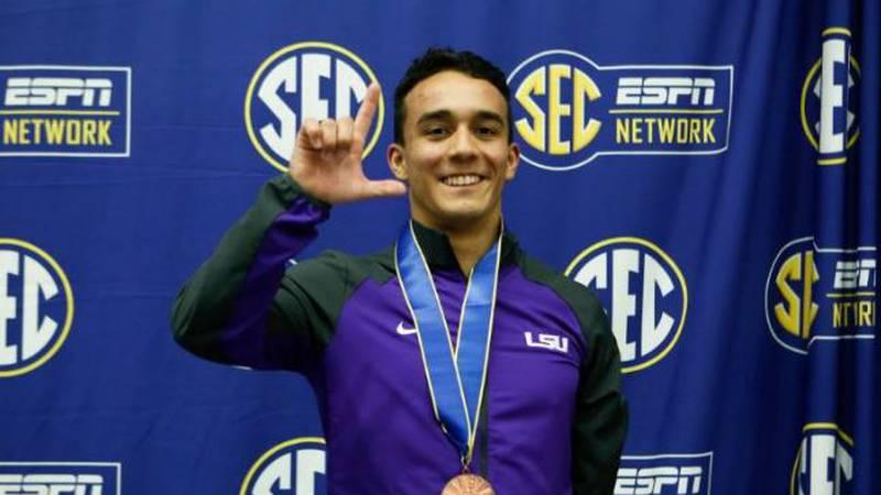 Juan Celaya-Hernandez has dreams of the 2020 Summer Olympics.