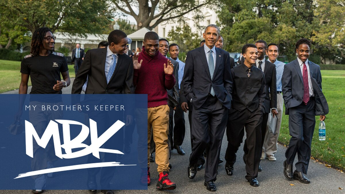 Mayor Adrian Perkins has accepted the My Brother's Keeper challenge to help boys and young men...