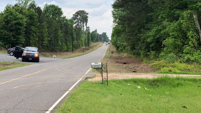 A manhunt was launched after a Caddo sheriff's deputy was fired upon along Jefferson Paige Road...
