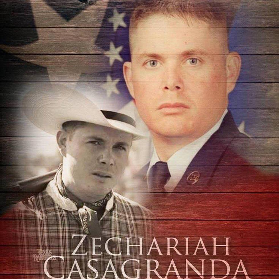 Technical Sergeant Zechariah Casagranda. (Courtesy: Facebook)