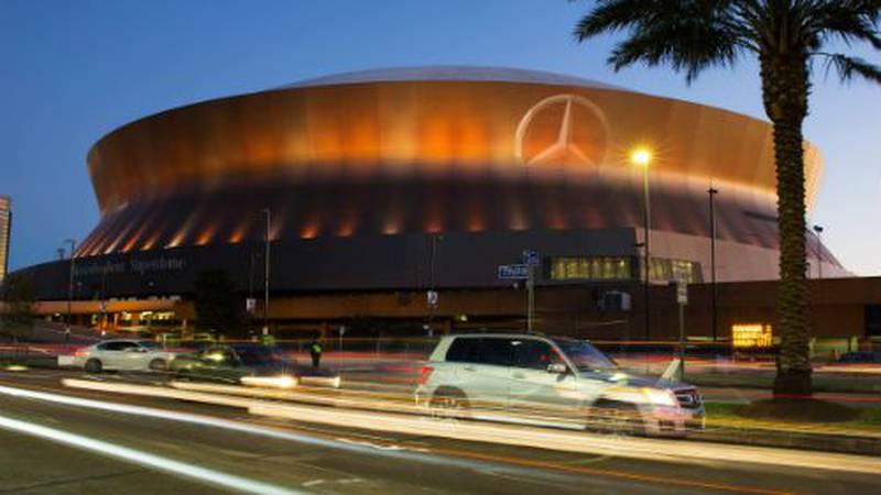 The Mercedes-Benz Superdome (FOX 8/John Snell)