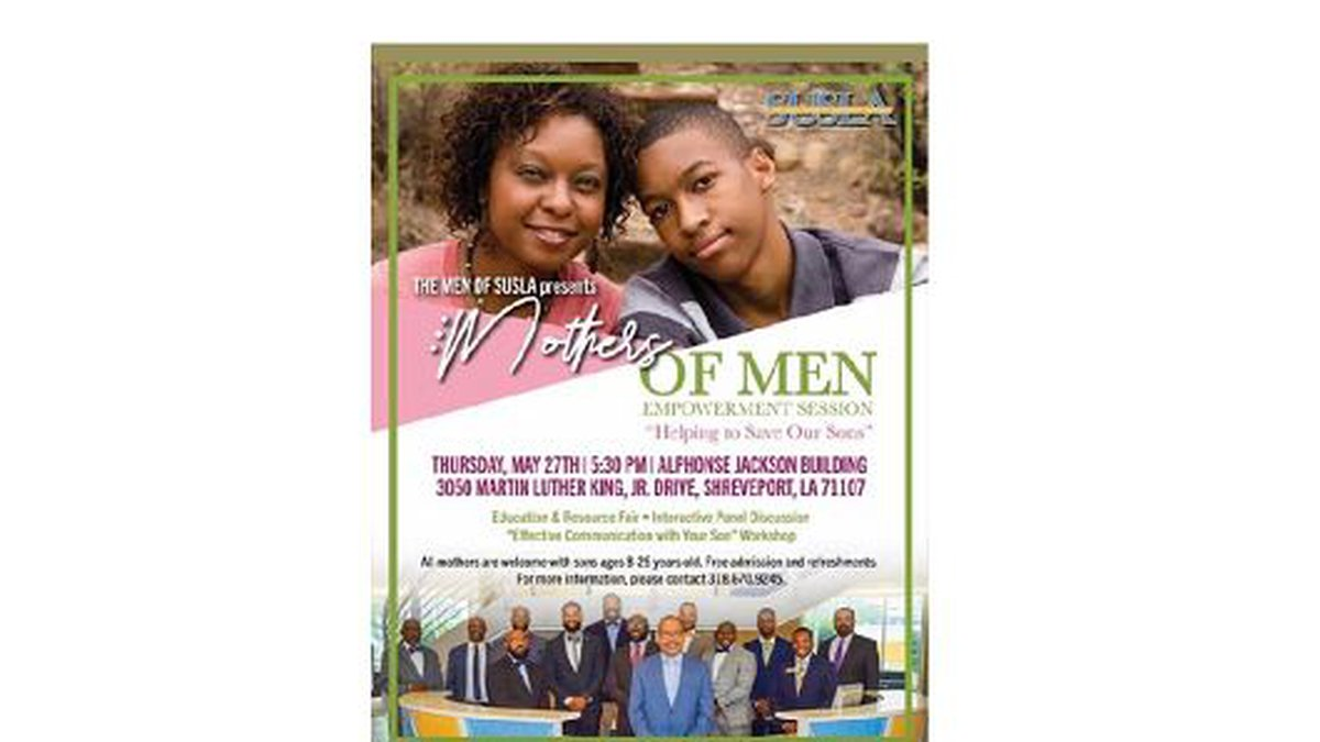 """Mothers of Men Empowerment Session """"Helping to Save Our Sons"""""""
