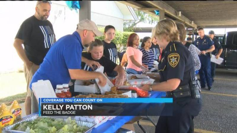 'Feed the Badge' a show of love for local law enforcement
