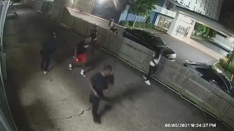 Part 1: Surveillance video captures New Orleans East mass shooting that injured 9