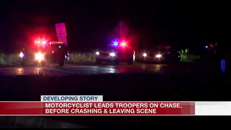 Motorcyclist chase on I-220