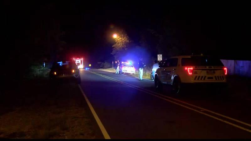 SUV strikes pedestrian, kills him