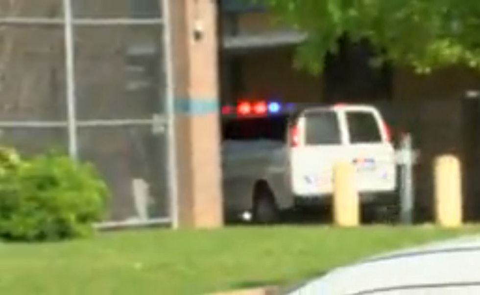 The suspect in a shooting that killed a woman and wounded a Shreveport police officer flooded...