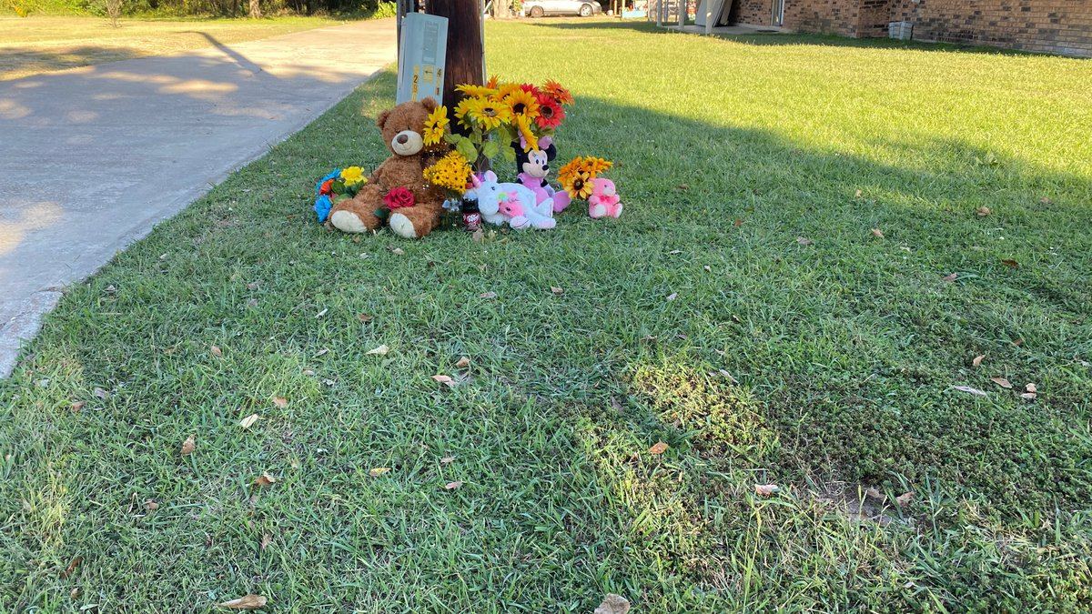 People began creating a memorial outside the home of Reagan Simmons Hancock, the 21-year-old...