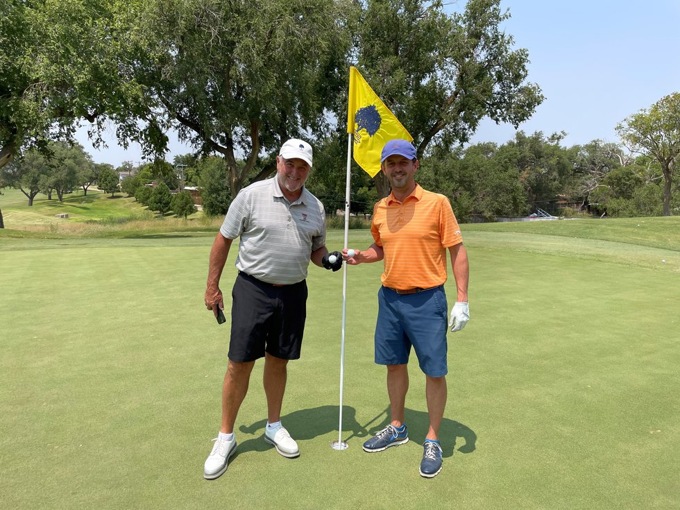 Vincent D'Alise and his dad Mark made back-to-back hole in ones on Friday, Aug. 6, 2021.