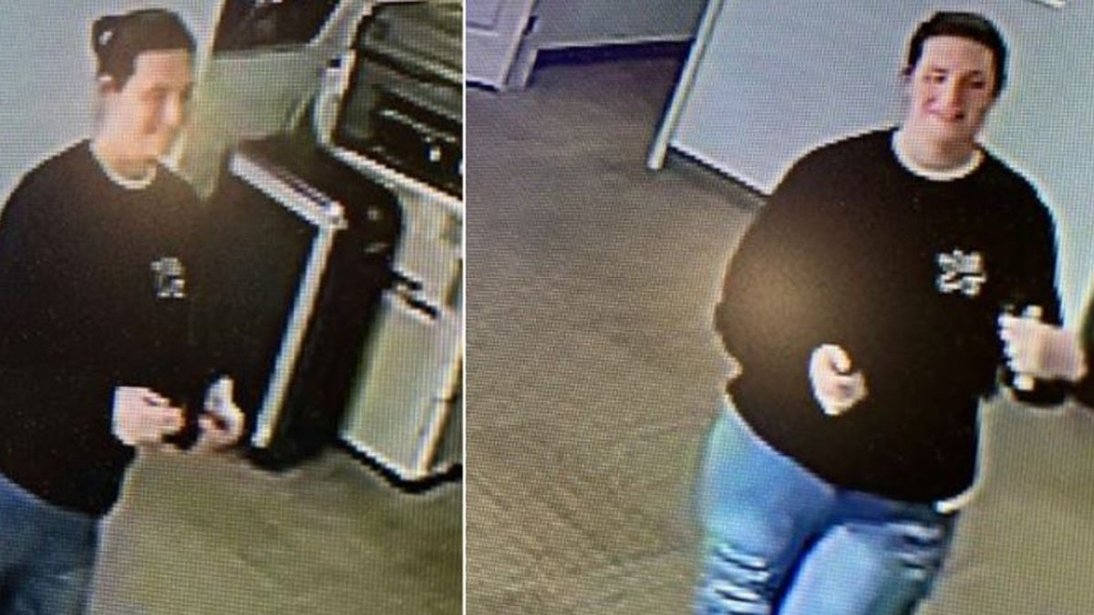 The Vernon Parish Sheriff's Office is sharing these surveillance camera photographs in hopes...