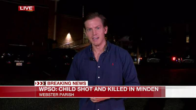 Child shot and killed in reported drive-by shooting in Minden