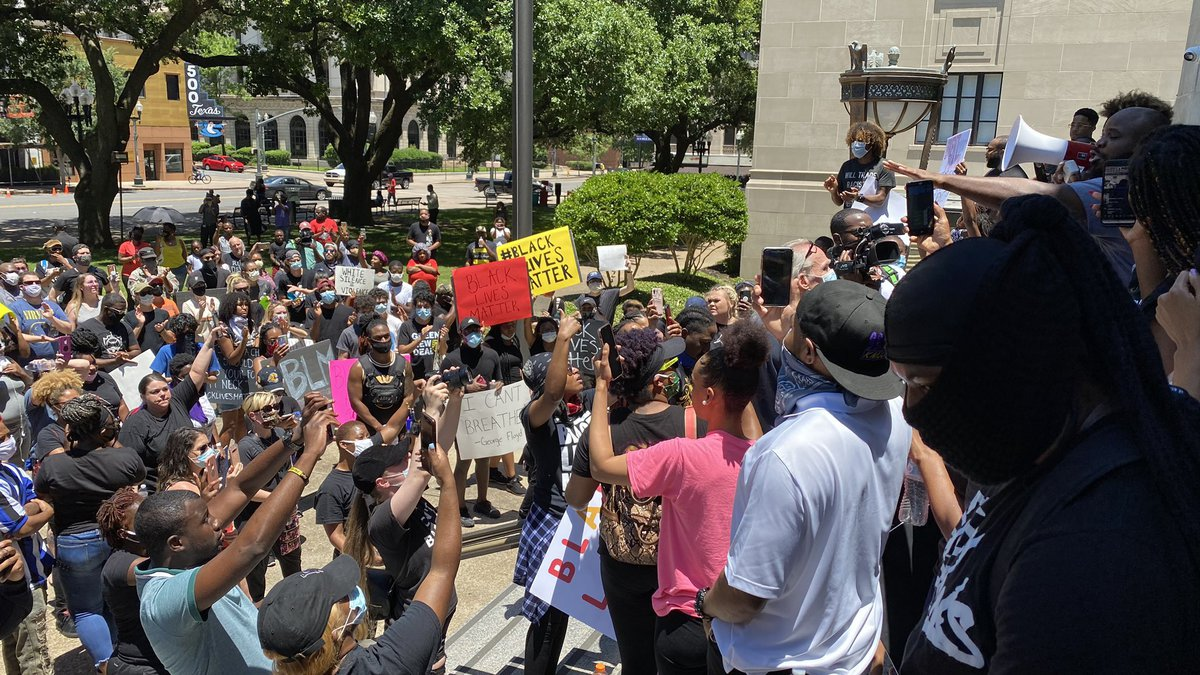 Shreveport peaceful protest