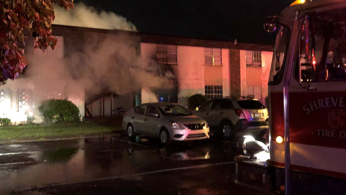 Fire damaged both floors of a building at the rear of the 9.6-acre Villa Norte Apartments...