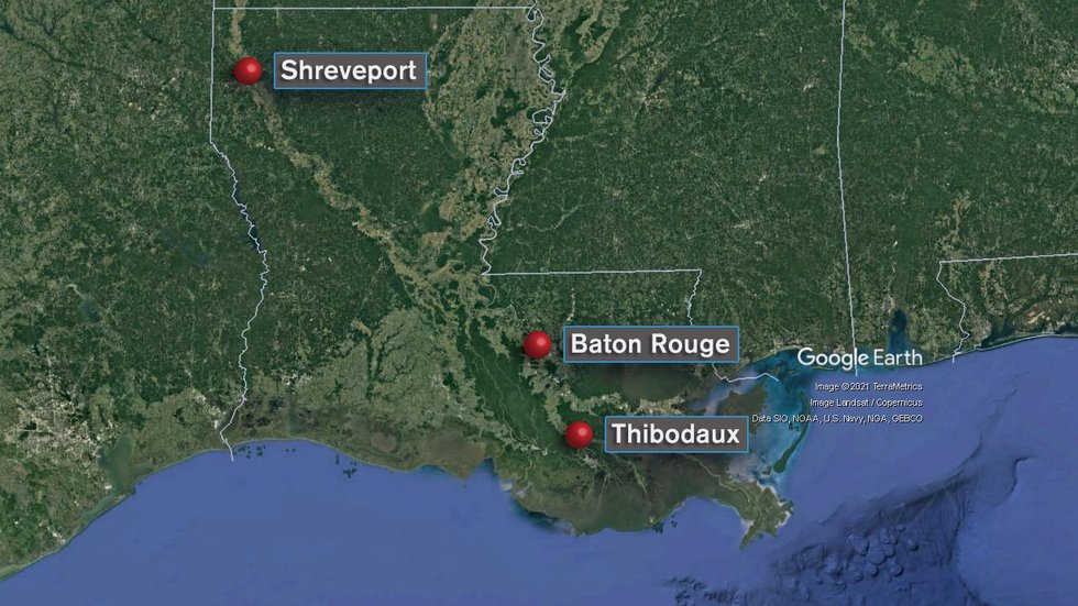 Since Friday, three Louisiana children, all under 3 years old, have been killed by their...