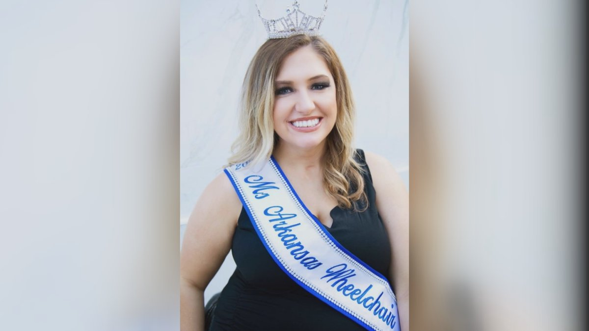 Audrey Williams, 2021 Miss Arkansas Wheelchair