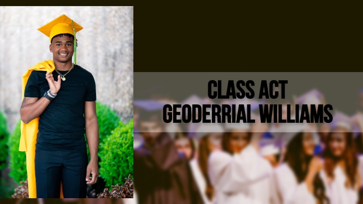 On May 26, Geoderrial and his classmates will graduate at the school's graduation ceremony held...
