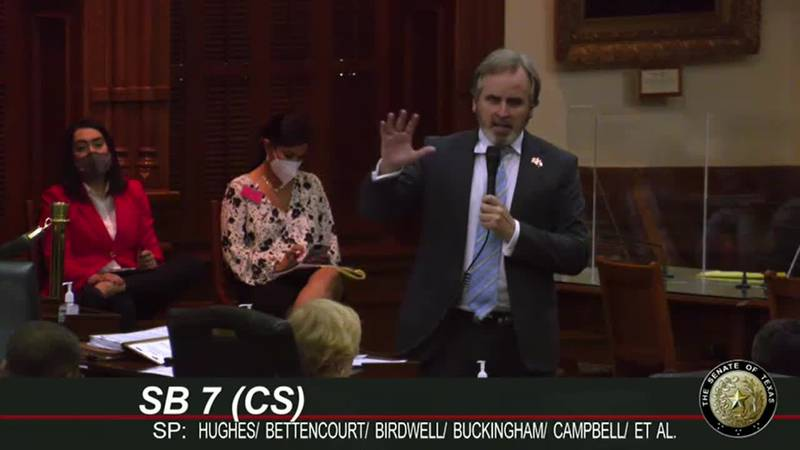 Sen. Hughes' election integrity bill passes in Senate despite resistance from Dems