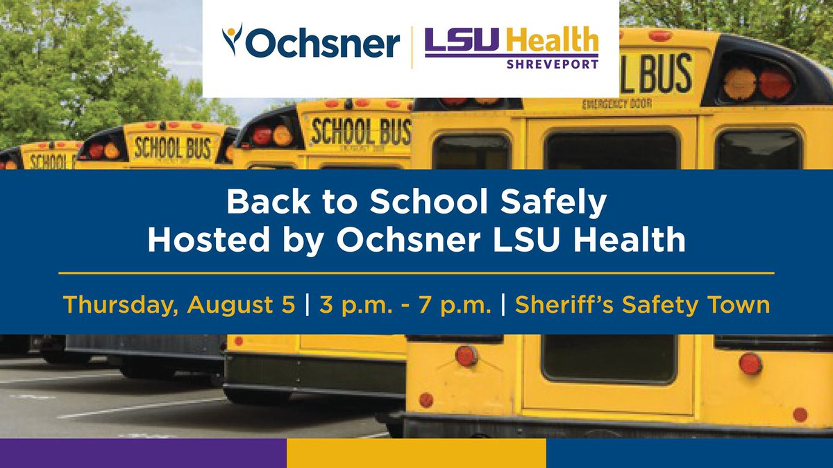 Ochsner LSU Health Shreveport and the Caddo Parish Sheriff's Office are holding a...