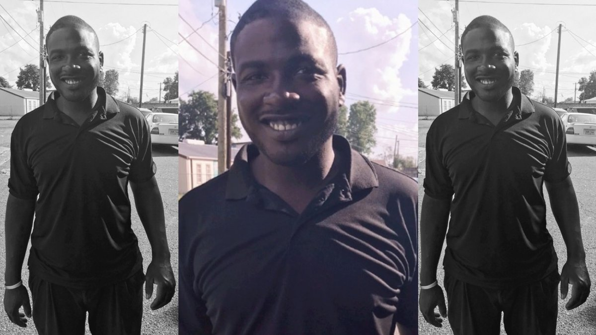MISSING: Adrian Jermaine Warren, 30, stands 6' tall, weighs about 240 pounds and has black hair...
