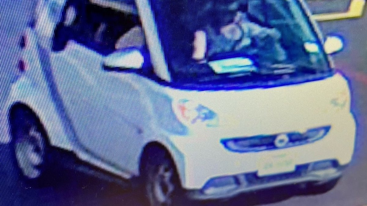 On Friday, July 2, the woman in the Smart Car was backing up through the Super One parking lot...