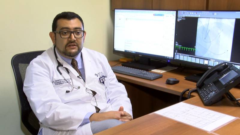 Dr. Jorge Castellanos is the new interventional cardiologist at Our Lady of the Lake. (Source:...