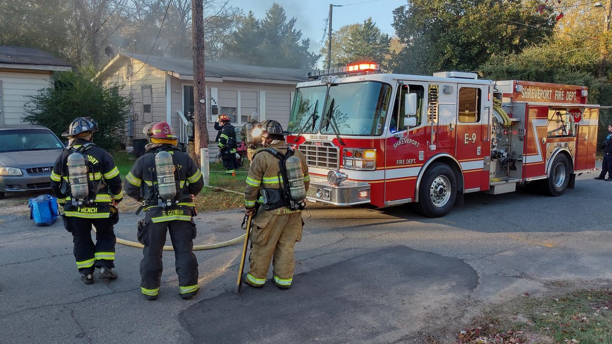Crews on scene say the house fire started in the kitchen.