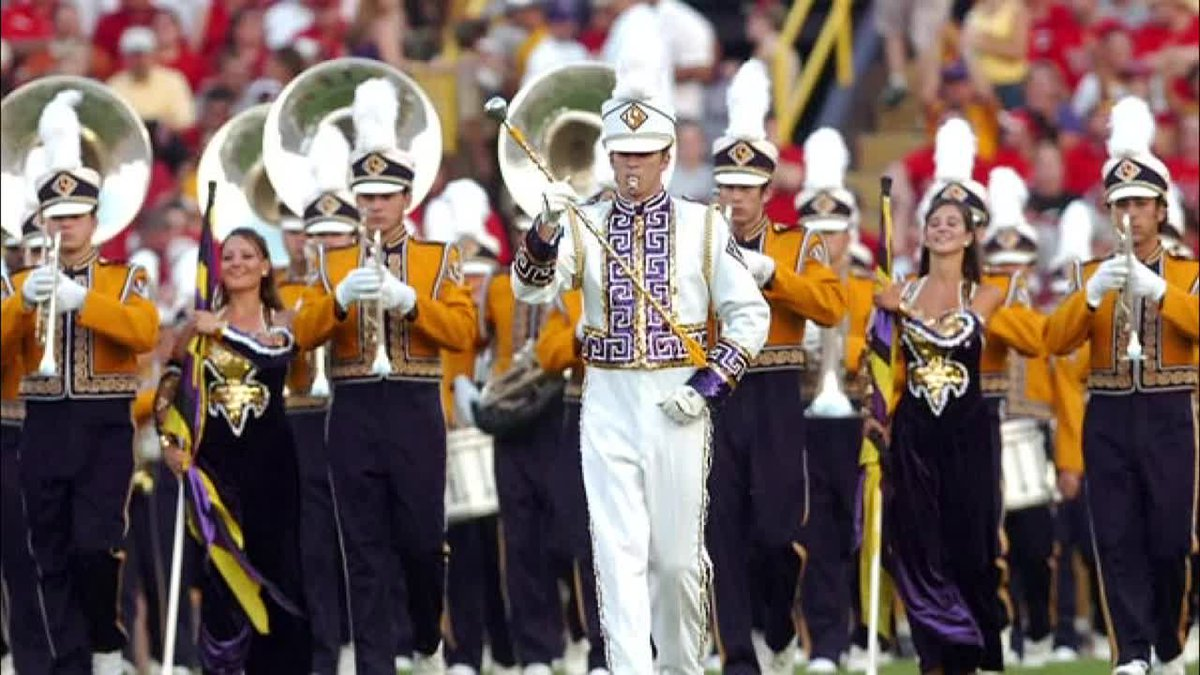 FILE photo of the LSU Golden Band from Tigerland