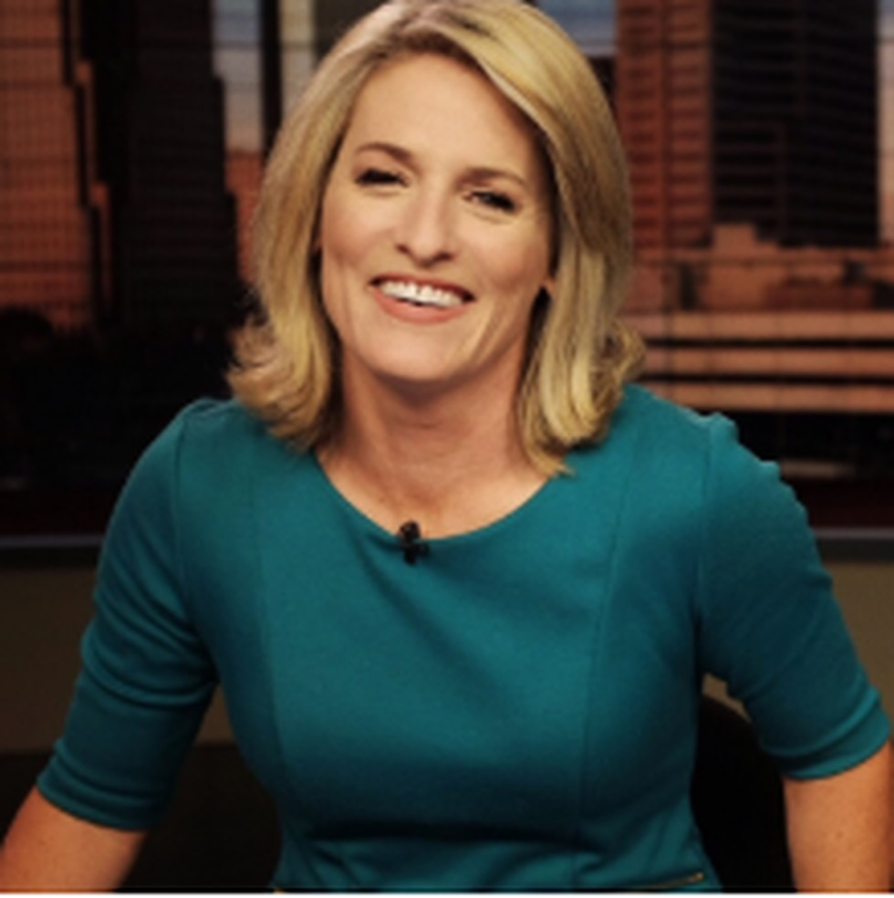 KSLA News 12 This Morning anchor Adria Goins