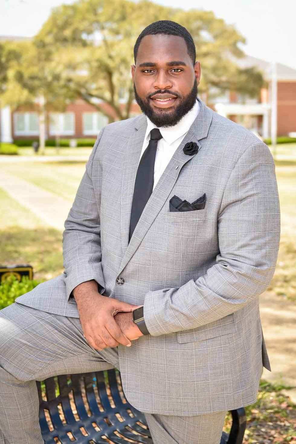 Steven Wilson is set to graduate from Grambling State University this week with his two brothers.