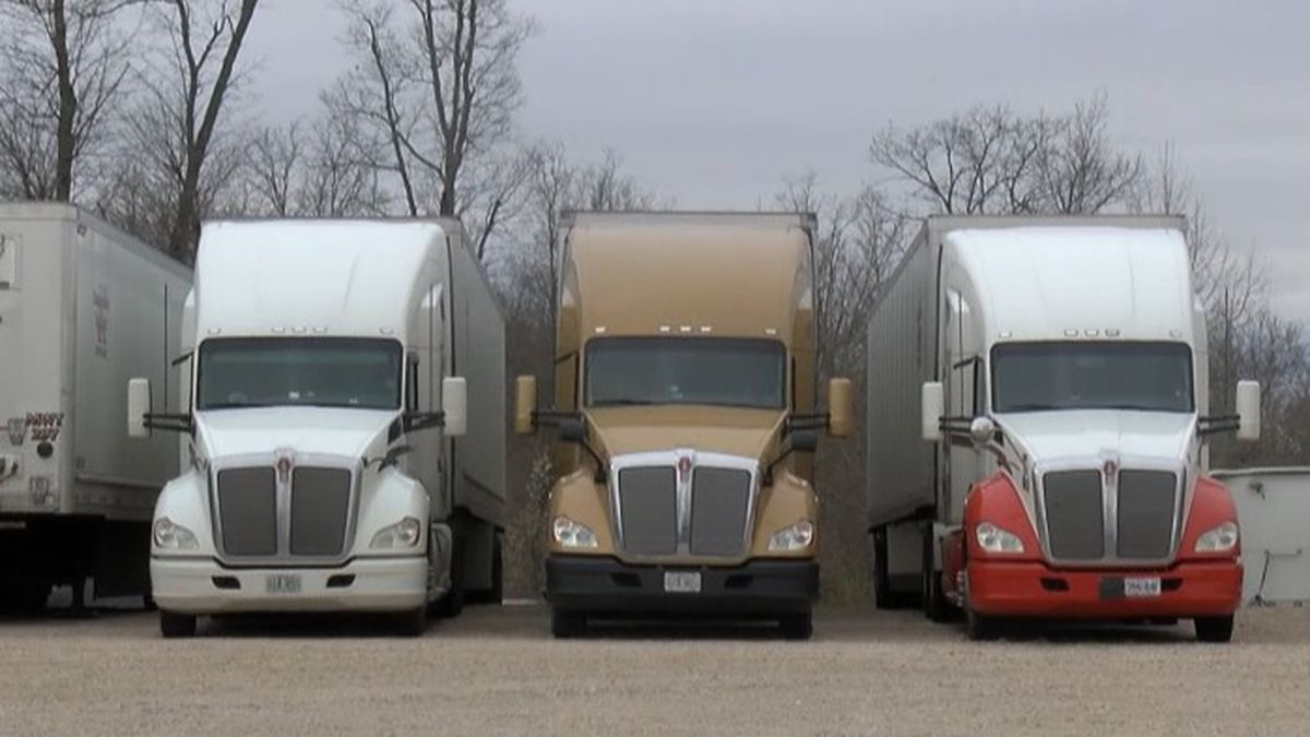 The lack of truck drivers is affecting deliveries nationwide. Trucking companies are trying to...