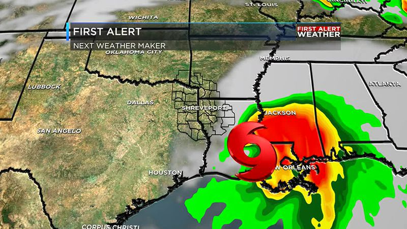 Tropical system expected this weekend