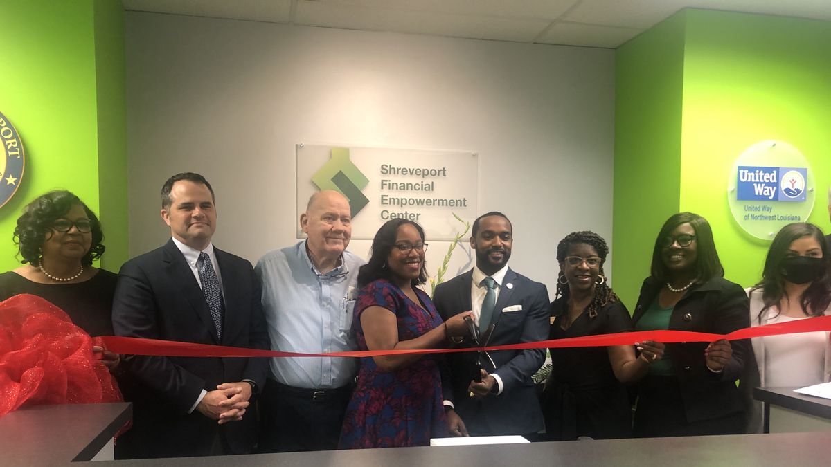 Grand reopening of the Shreveport Financial Empowerment Center (SFEC).
