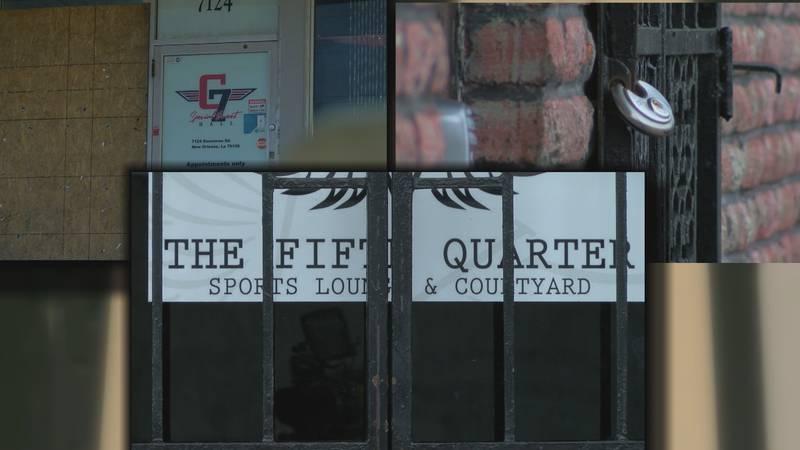 New Orleans East bars shutdown