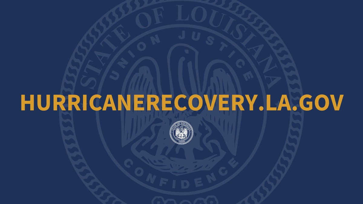 Hurricane Recovery resources for Louisiana residents