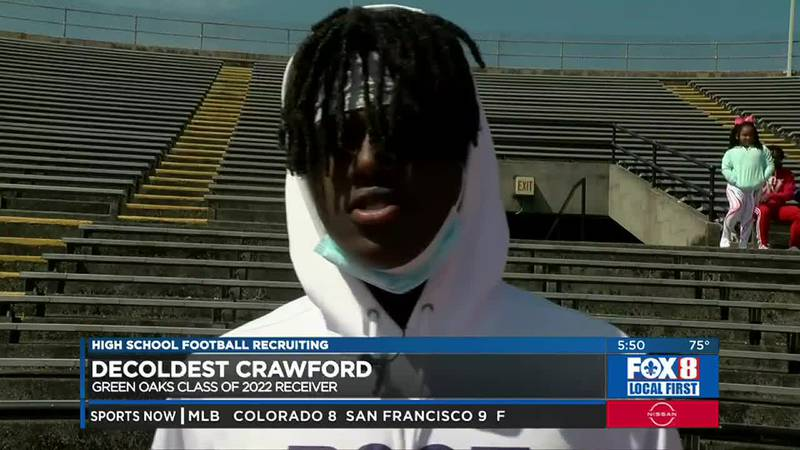 Crawford is an LSU 2022 commit