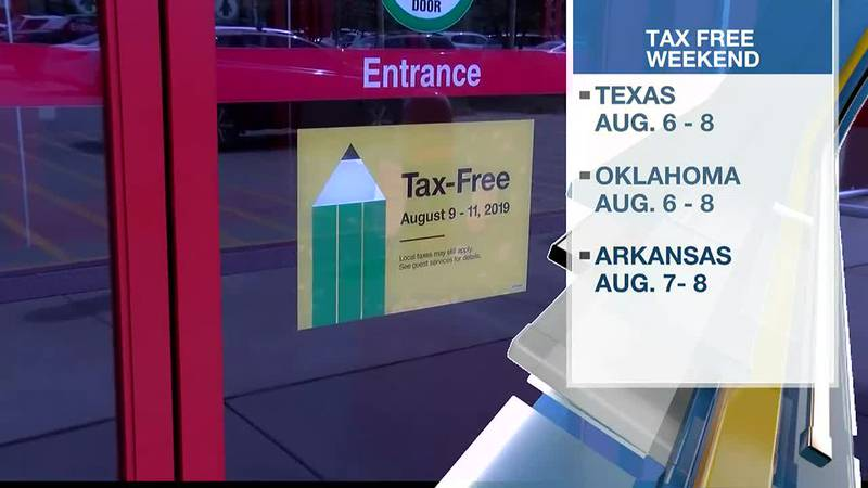 Parents can take advantage of tax-free weekend to buy school supplies