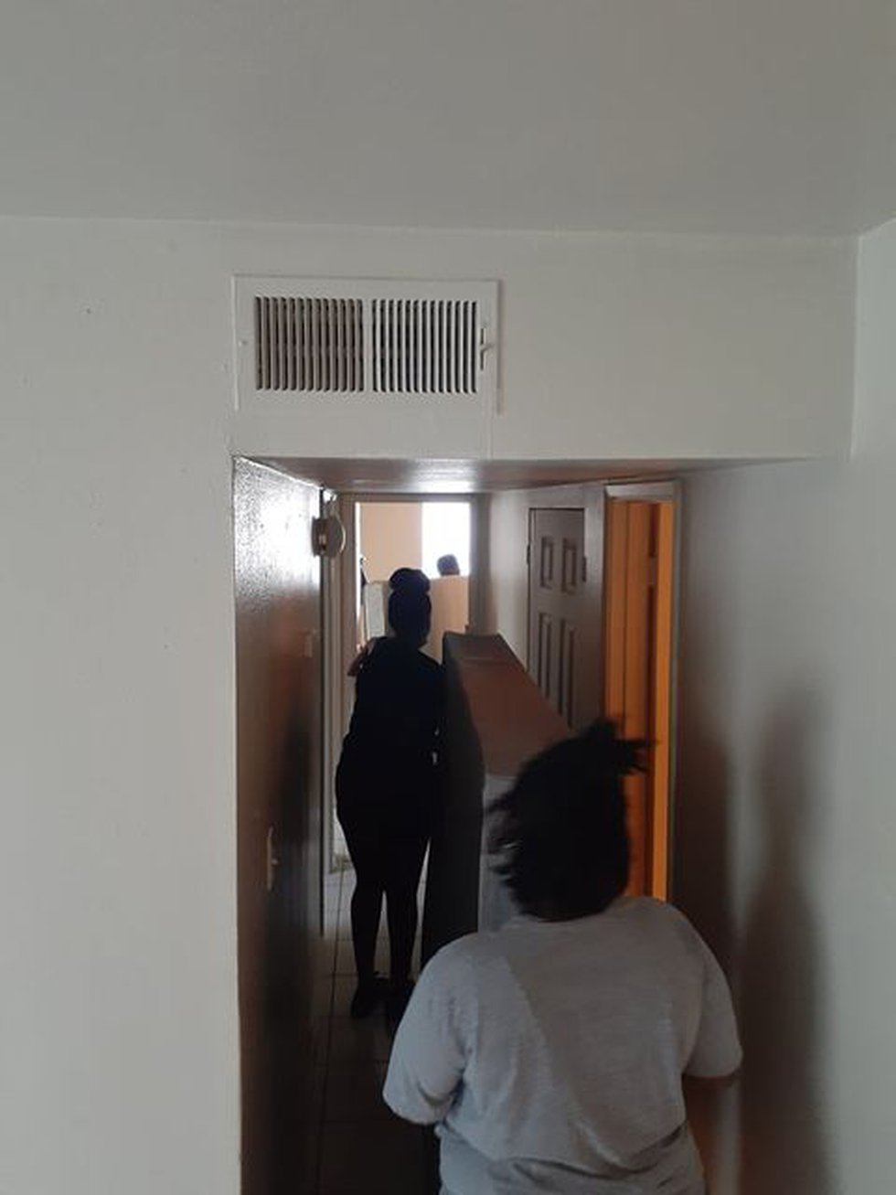 Darby moves in to new apartment