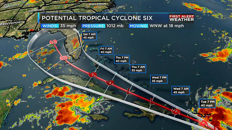 Keeping an eye on the tropics and the heat