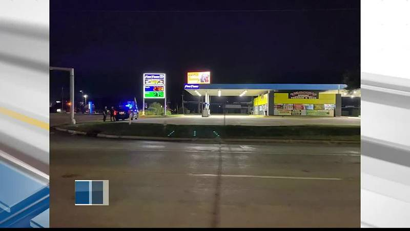 Armed robbery, chase ends in arrest