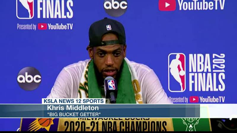 Bound for the Olympics: Congratulations to Khris Middleton not only for winning the ship but...