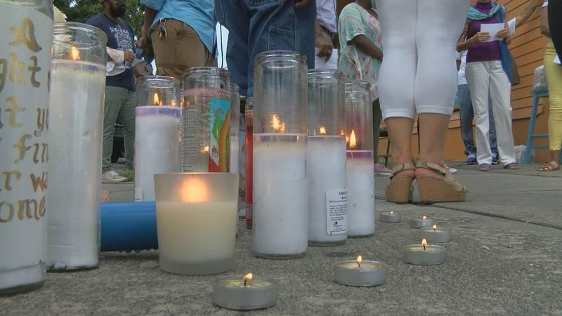 Memorial for infant stabbing death