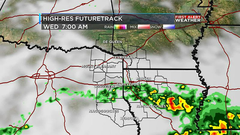 Jeff's Tuesday evening weather update