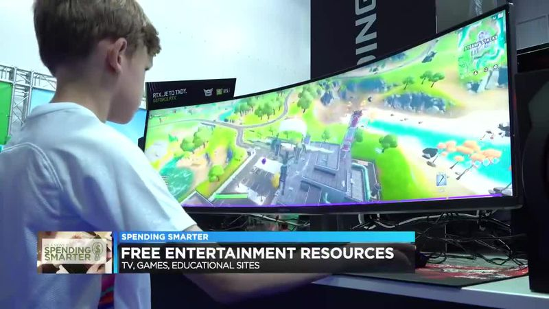Free resources to entertain yourself while staying home
