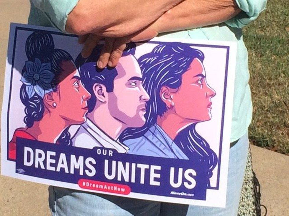 The political action group Moveon.org is asking congress for a clean Dream Act . (Source: Fred...