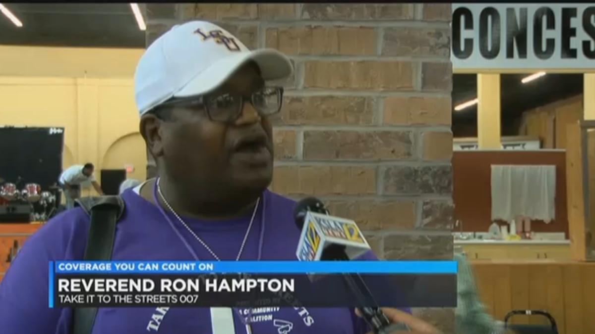 Pastor Ronnie Hampton