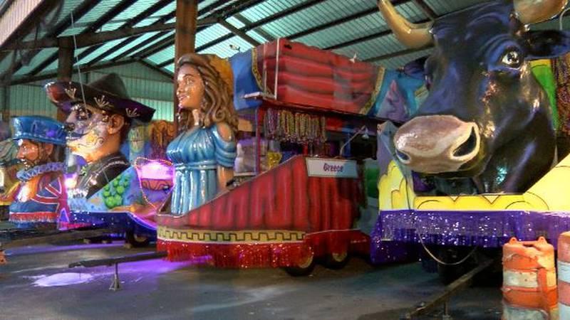 Preparations are underway for the 2022 Mardi Gras season in Shreveport. Twelfth Night is Jan....