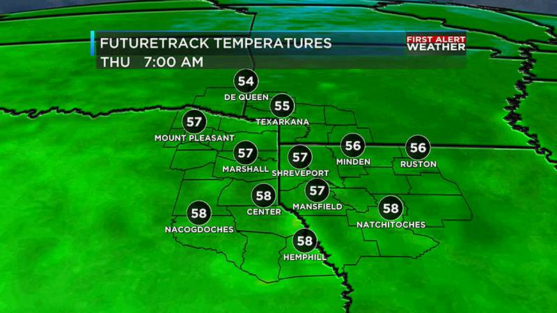 We are tracking the coolest weather for the region since Spring thanks to the cold front today.