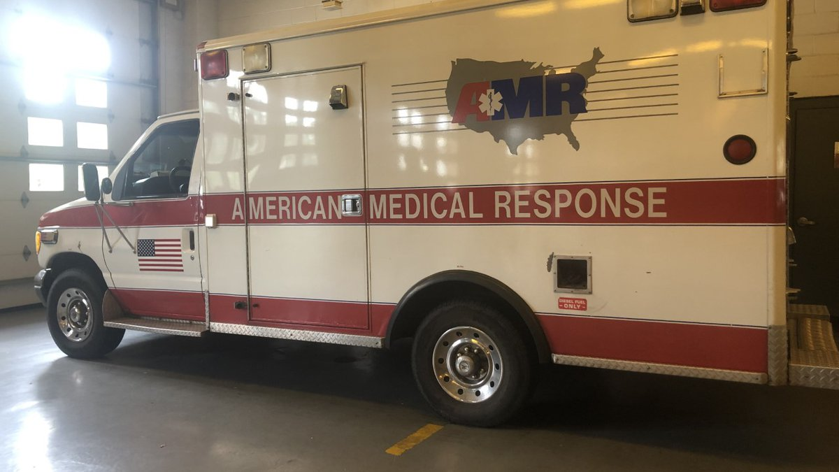 SFD received four ambulance trucks and eight crew members.
